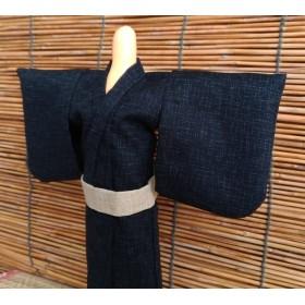 パパの浴衣 濃紺 (27~28cmドール)
