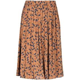 《期間限定セール開催中!》ANONYME DESIGNERS レディース 7分丈スカート キャメル 40 ポリエステル 100%