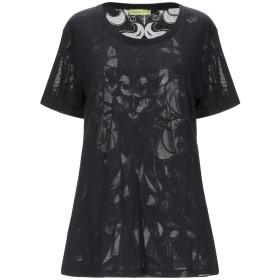 《期間限定セール開催中!》VERSACE JEANS レディース T シャツ ブラック XXS ポリエステル 65% / コットン 35%