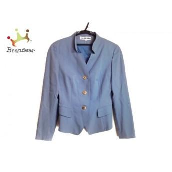 49アベニュージュンコシマダ ジャケット サイズ9 M レディース ライトブルー 肩パッド スペシャル特価 20190904