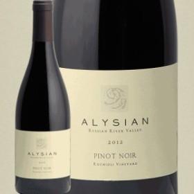 アリシアン ピノノワール ロキオリ 2012 ALYSIAN PINOT NOIR ROCHIOLI VINEYARD 赤ワイン アメリカ カリフォルニア ソノマ No.1 ゲイリー