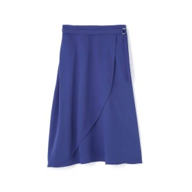 【公式/NATURAL BEAUTY BASIC】[洗える]アシメフレアスカート/女性/スカート/ロイヤルブルー/サイズ:XS/(表生地)ポリエステル 100%(裏生地)ポリエステル 100%