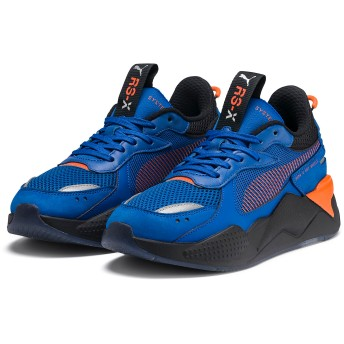 【プーマ公式通販】 プーマ キッズ PUMA x HOTWHEELS RS-X TOYS JR ユニセックス Puma Royal-Puma Black |PUMA.com