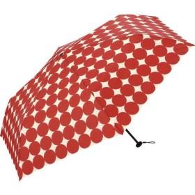折りたたみ傘 イージーオープン ラージドット