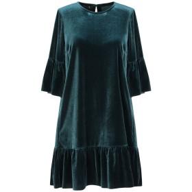 《セール開催中》PEPITA レディース ミニワンピース&ドレス ディープジェード 42 ポリエステル 90% / ポリウレタン 10%