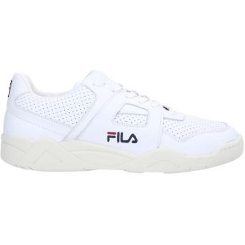 《セール開催中》FILA メンズ スニーカー&テニスシューズ(ローカット) ホワイト 10 革