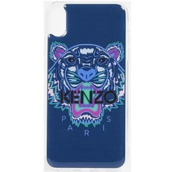 ケンゾー タイガー ヘッド アイフォン XS MAX ケース KENZO Tiger Head iPhone XS Max Case Deep Sea Blue
