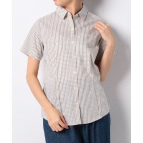 (Eddie Bauer OUTLET/エディー・バウアー・アウトレット)SS WF PATTERN SHIRT/レディース イエロー