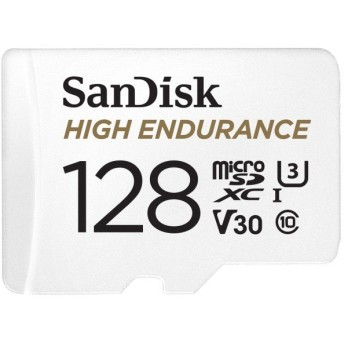 SanDisk SDSQQNR-128G-GN6IA 128GB microSDXCメモリーカード High Endurance microSD Card 海外パッケージ品