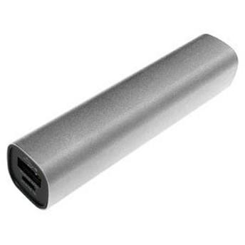 TAGlabel by amadana タグレーベル バイ アマダナ モバイルバッテリー mobile battery AT-MBA30P(SV) シルバー [3000mAh/1ポート/USB給電]