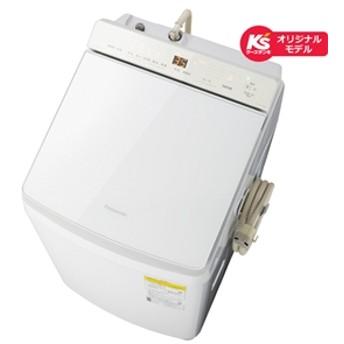 【パナソニック】 タテ型洗濯乾燥機 NA-FW107KS-W たて型洗濯乾燥機