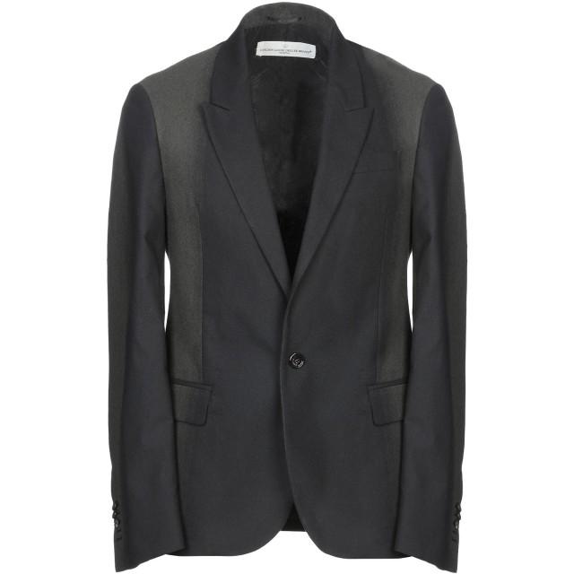 《期間限定セール開催中!》GOLDEN GOOSE DELUXE BRAND メンズ テーラードジャケット ブラック S バージンウール 55% / コットン 27% / ナイロン 18%