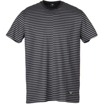 《期間限定セール開催中!》ARMANI JEANS メンズ T シャツ ブラック 3XL コットン 100%