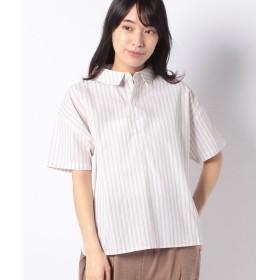 【40%OFF】 コエ ストライプワイドシャツ レディース ベージュ F 【koe】 【セール開催中】