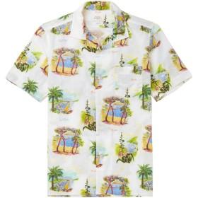 《セール開催中》HARTFORD メンズ シャツ アイボリー XL コットン 100%