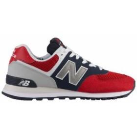207feae31e75c (取寄)ニューバランス メンズ 574 New Balance Men's 574 Team Red Pigment