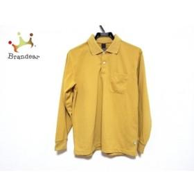 モンベル mont-bell 長袖ポロシャツ サイズS メンズ オレンジ 新着 20190604