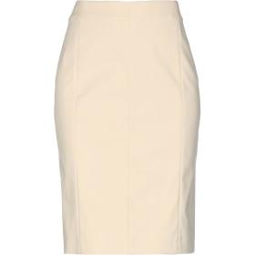 《期間限定セール開催中!》BLUE LES COPAINS レディース ひざ丈スカート サンド 40 コットン 49% / ナイロン 44% / ポリウレタン 7%
