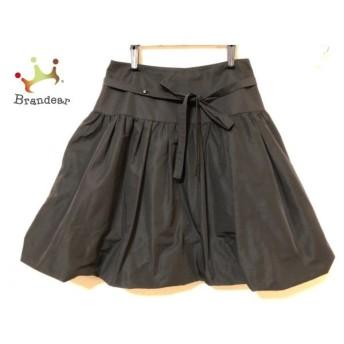 トゥービーシック TO BE CHIC スカート サイズ40 M レディース 美品 黒 値下げ 20190908