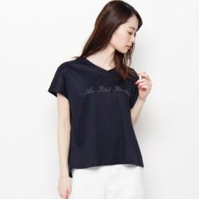 [マルイ]【セール】【洗える】ロゴ刺しゅうTシャツ/エアパペル(Airpapel)