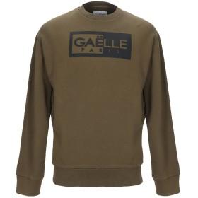 《セール開催中》GALLE Paris メンズ スウェットシャツ ミリタリーグリーン S コットン 100%