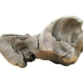 「送料無料」変形流木 i417 国産流木素材 DIY資材 工作用素材 ディスプレイ用素材 ガーデニング用資材