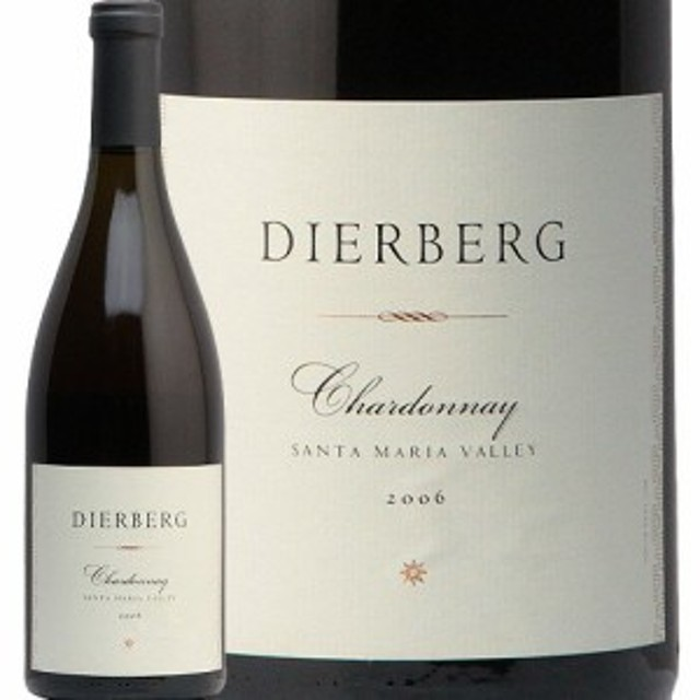 ディアバーグ シャルドネ サンタ マリア ヴァレー 2006 Dierberg Chardonnay Santa Maria Valley カリフォルニア 白ワイン 古酒 熟成 モ