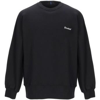 《期間限定セール開催中!》TUDES STUDIO メンズ スウェットシャツ ブラック XXS コットン 100%
