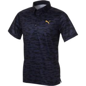 【プーマ公式通販】 プーマ ゴルフ ボーダーカモ SSポロシャツ 半袖 メンズ Peacoat |PUMA.com