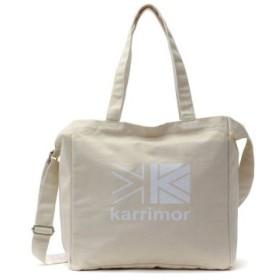 (GALLERIA/ギャレリア)カリマー トートバッグ karrimor ショルダーバッグ 2WAY cotton tote コットントート A4 25L 921/ユニセックス キナリ系2