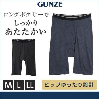 ボクサーパンツ GUNZE(グンゼ)/ロングボクサー(前あき)(紳士)/HN7981N