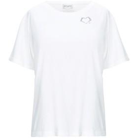 《9/20まで! 限定セール開催中》SAINT LAURENT レディース T シャツ ホワイト XS コットン 100%