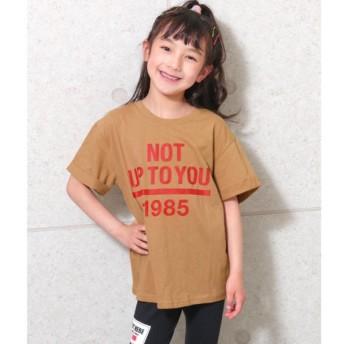 [マルイ]【セール】ロールアッププリントBIG-Tシャツ/アナップキッズ&ガール(ANAP KIDS&GIRL)