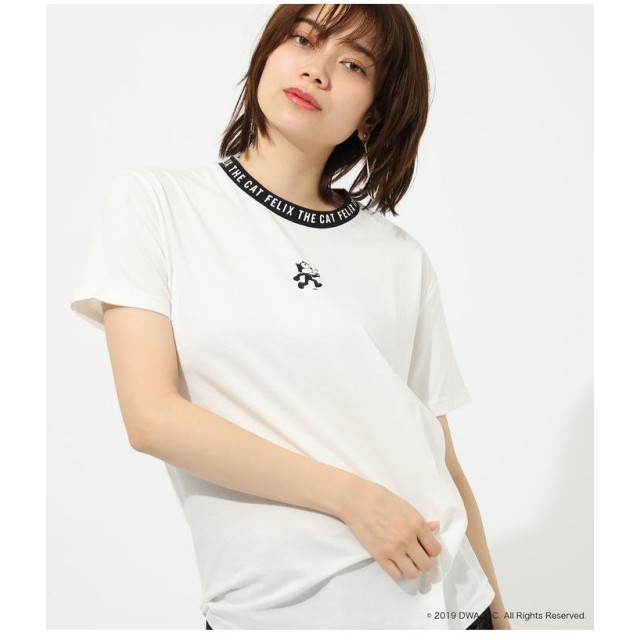 AZUL BY MOUSSY アズールバイマウジー FELIX RINGER TEE