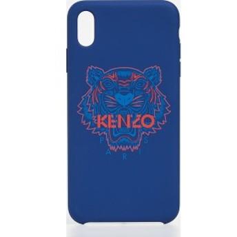 ケンゾー タイガー ヘッド アイフォン XS MAX ケース KENZO Tiger Head iPhone XS Max Case Navy Blue