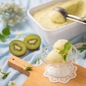 フルーツソムリエが作った濃厚ジェラート『グリーンキウイ』アイス