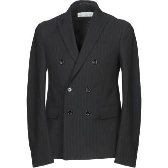 《期間限定セール開催中!》GOLDEN GOOSE DELUXE BRAND メンズ テーラードジャケット ブラック S コットン 60% / バージンウール 24% / ナイロン 16%