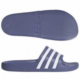 アディレッタ AQUA ローインディゴS18×ランニングホワイト 【adidas|アディダス】サッカーフットサルサンダルf35533
