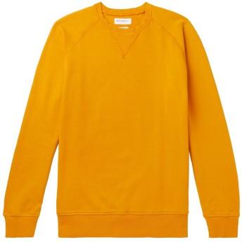 《期間限定セール開催中!》PRESIDENT'S メンズ スウェットシャツ オークル S コットン 100%