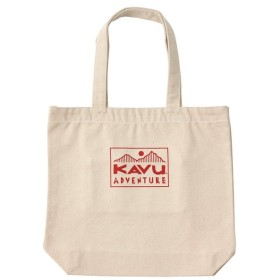 カブー KAVU ADVENTURE Tote Bag Red
