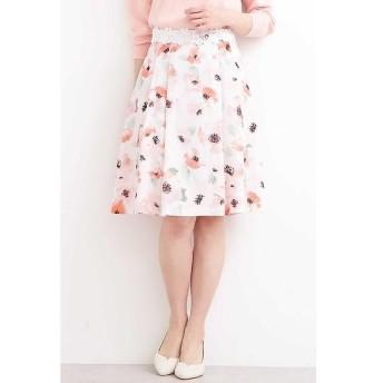 PROPORTION BODY DRESSING / プロポーションボディドレッシング  ブライトトーンフラワーフレアスカート