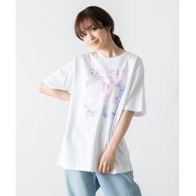 [マルイ]【セール】総柄ナンバリングTシャツ/ウィゴー(メンズ)(WEGO)