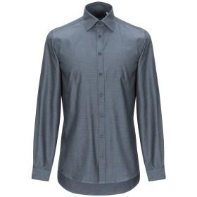《期間限定 セール開催中》HAMAKI-HO メンズ シャツ グレー S コットン 100%