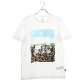 プーマ PUMA メンズ 半袖Tシャツ フォトプリント スカイライン SS Tシャツ 854994