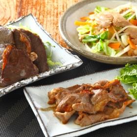 羊・鶏・鹿肉をまるごと堪能! しらぬか自慢 味付き焼肉セット(セット)