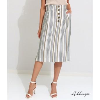 【セール開催中】ANAP(アナップ)マルチストライププリントタイトスカート