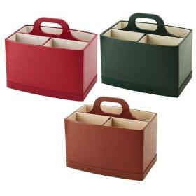 茶谷産業 Supplement  リモコンラック 型押し 収納 ボックス