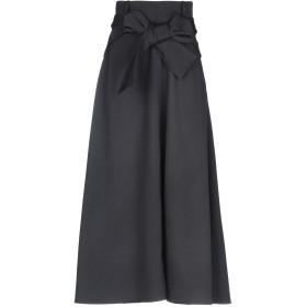 《期間限定 セール開催中》CELINE レディース 7分丈スカート ブラック 34 ウール 100% / シルク