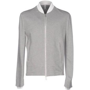 《期間限定セール開催中!》HSIO メンズ スウェットシャツ ライトグレー M コットン 97% / ポリウレタン 3%