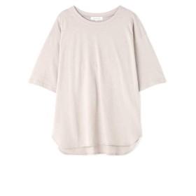 【公式/NATURAL BEAUTY BASIC】カジュアルTシャツ/女性/Tシャツ/ベージュ/サイズ:M/コットン 100%